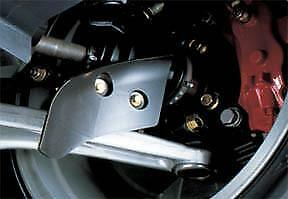 Mitsubishi Brake Cooling Air Guides for 2003-15 Mitsubishi Evo 8/9/10 MZ555004EX
