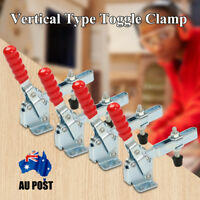 □4X 227kg Quick Release Hand Operated Tool Horizontal Fast Toggle Clamp 12132