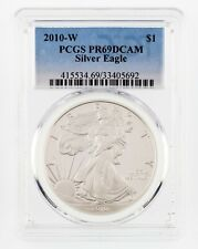 2010-W $1 Silver American Eagle Graded by PCGS as PR69DCAM