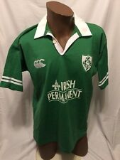Ireland Rugby Shirt Jersey Canterbury New Zealand All Blacks Irish Permanent Med