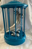 Polly the Robotic Tekno Parrot With Cage 2001 Manley Toy Quest Works
