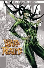 (2019) WAR OF THE REALMS #1 J SCOTT CAMPBELL Variant Cover! Hela!