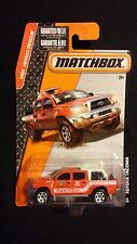 2015 MATCHBOX Toytota Tacoma Lifeguard Truck #59 HEROIC RESCUE Die-Cast Vehicle