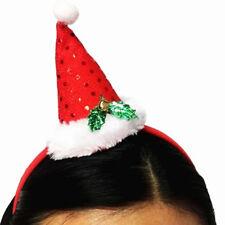Headdress Christmas Hat Head Buckle Cloth Beauty Christmas Decor Cap Pointer SH