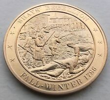 Shays Rebellion Armed Uprising In Massachusetts About War Debt Coin Medal