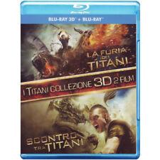 LA FURIA DEI TITANI / SCONTRO TRA TITANI (2Blu-Ray+2Blu-Ray 3D) NUOVO [dv04]