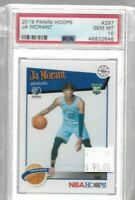 2019 Panini Hoops Ja Morant rookie card tribute PSA 10 - Grizzlies
