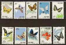 VR China 689-698 Schmetterlinge postfrischer Satz mint set butterflies PRC