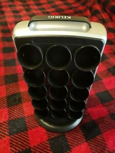 Keurig K Cup Carousel Coffee Pod Holder Storage Tower Organizer 30 Cups Rotating