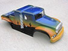 Vintage 2002 Proline Peterbilt Lexan Custom Painted Rc Truck Big Rig Body Nos