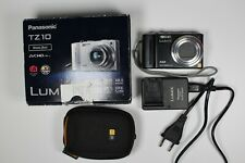 Panasonic LUMIX DMC-TZ10 12.1MP Digital 12x Optical Zoom GPS Camera TESTED Read