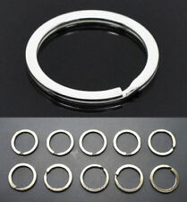 BULK 50pcs Metal Key Holder Split Rings Keyring Keychain Accessories 25mm