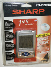 NEW SHARP YOP20HII 1MB ELECTRONIC ORGANIZER! 8 FEATURES! 2 PHONE BOOKS! BACKLIT!