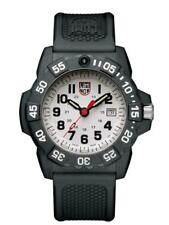 New Luminox Navy Seal 3500 CARBONOX White Dial Rubber Band Men's Watch XS.3507