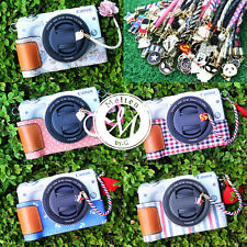 [Melten] Leather&Fabric Camera Half Case+Lens Cap Keeper For Canon EOS M3