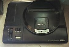 Sega Mega Drive Console PAL UK And AC Adapter In Good Condition