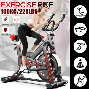 Cyclette Spinning Bike Allenamento Bici Cardio Fitness Bicicletta Palestra Nero