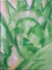 Affordable Abstract Oil Paintings: Ms. Liberty #1, 2 & 3