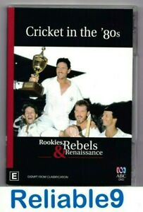 Cricket in the '80s Rookies & rebels renaissance DVD New not sealed Reg4-2006ABC
