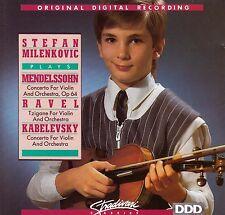STEFAN MILENKOVIC Mendelssohn / Ravel / Kabelevsky CD - NEW