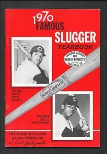 1970  Famous Louisville  Slugger Yearbook   PETE ROSE & ROD CAREW   Near Mint