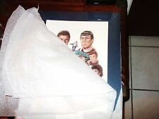 Star Trek Signed Jonothan Brown Limited Ed Print Kirk Spock '96 Painting Vtg Art