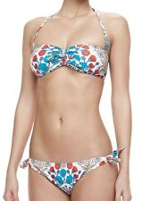 $149 MARC JACOBS M MADDY Botanical Floral Bandeau Two Piece Bikini SWIMSUIT