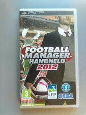 JEU PSP // Football manager 2012 // Notice / En très bon état / PAL FR