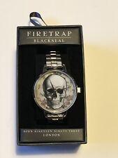 FireTrap Blackseal Skull Face Watch