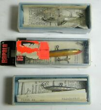 Three Rapala Vertical Jigging Lures Two are Vintage