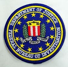 TOPPA PATCH AMERICANA FBI FEDERAL BUREAU OF INVESTIGATION F.B.I. X FILES STEMMA