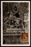 POLEN MK 1956 WARSCHAU REITER-DENKMAL PFERD HORSE MAXIMUMKARTE MAXI CARD MC df08