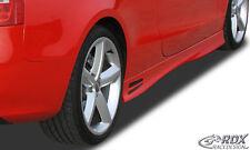 """RDX Seitenschweller Audi A5 B8 8T3 Coupe 8F7 Cabrio """"GT4"""" Schweller Set ABS"""