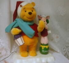 Telco Motionette Animated Disney Winnie Pooh Piglet Christmas Decoration AS IS