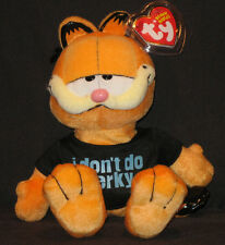 TY GARFIELD the CAT - I DON'T DO PERKY with MINT TAGS