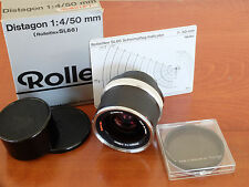 Rolleiflex Rollei 50mm distagon HFT version for SL66 MINT Boxed + Rolleipol