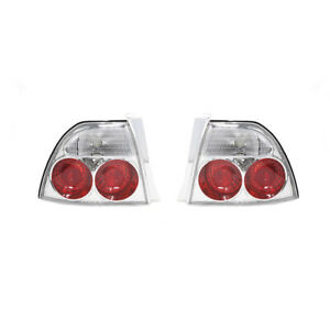 Fits for 94-95 Honda Accord Rear Tail Lights Pair - Clear