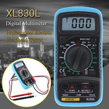 XL830L Multímetro Digital LCD AC DC OHM Medidor Voltaje Current Tester Circuit <
