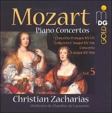 Mozart: Piano Concertos Vol. 5, New Music