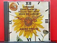 Strauss: Oboe Concerto/Francaix: L'Horloge De Flore/Satie: Gymnop'die...- A522