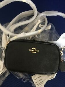 Coach Kira Crossbody Bag Black