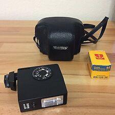 New listing Konica ~ Auto ~ S3 ~ 35mm ~ Rangefinder ~ Film Camera w Caps & Case ~ Flash