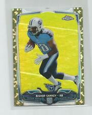 2014 Topps Chrome Mini  BISHOP SANKEY  Camo Refractor  59/99