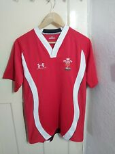 New listing WALES RUGBY UNION SHIRT JERSEY CAMISETA RED - UNDER ARMOUR - Size L