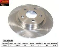 Disc Brake Rotor fits 2004-2005 Pontiac Bonneville  BEST BRAKES USA