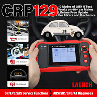 LAUNCH CRP129 ABS SRS SAS Oil Reset OBD2 Code Reader Scanner as Creader VIII