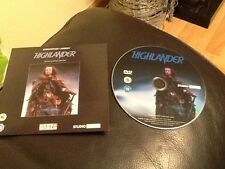 HIGHLANDER . Christopher Lambert, Sean Connery . promo DVD NEW UNUSED .