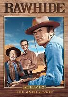 NEW 4DVD - RAWHIDE  - SEASON 6 VOLUME 2- Clint Eastwood, James Murdock, Paul Br