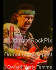 Carlos Santana Photo 1990s 8X10 Concert Photo by Marty Temme Prs
