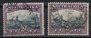 SOUTH AFRICA:1941 SC#54a,b Used Government Buildings, Pretoria  T673